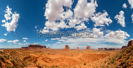 scenic, sandstones, , cloudy, sky, at, monument - 28083697