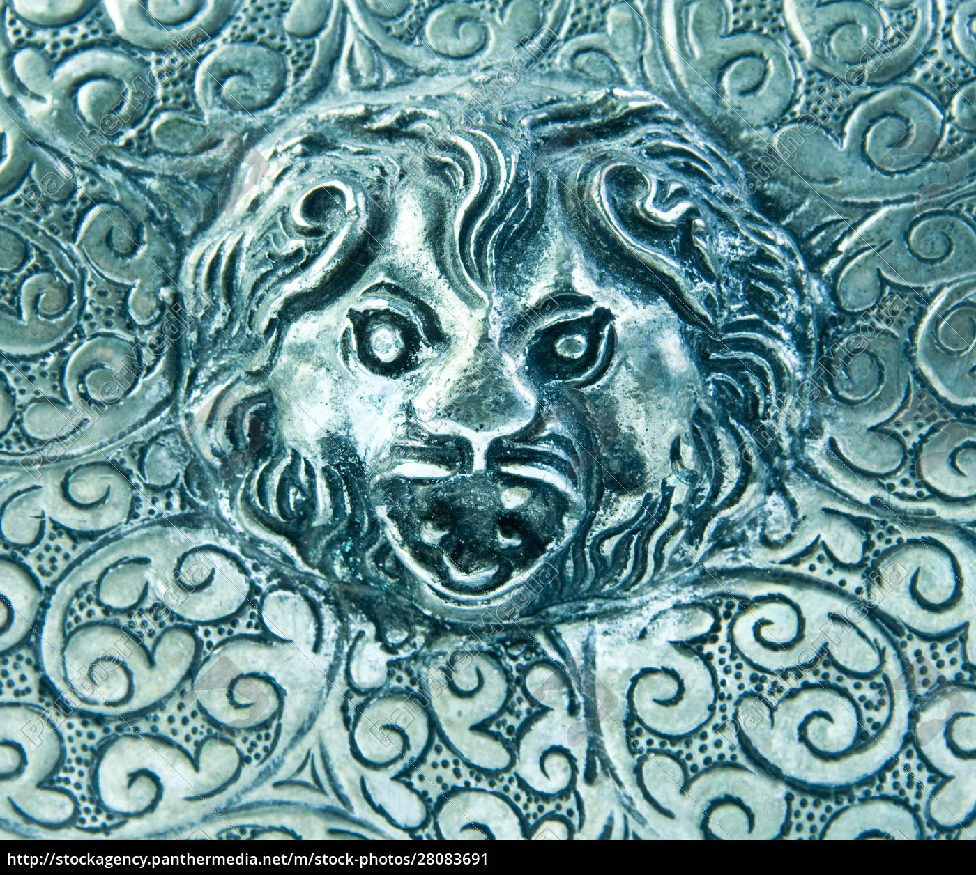 silverware, background, with, lion - 28083691