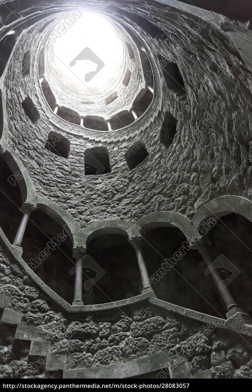 spiral, tunnel - 28083057