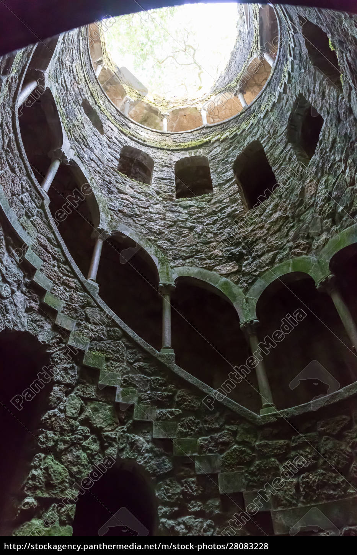 spiral, tunnel - 28083228