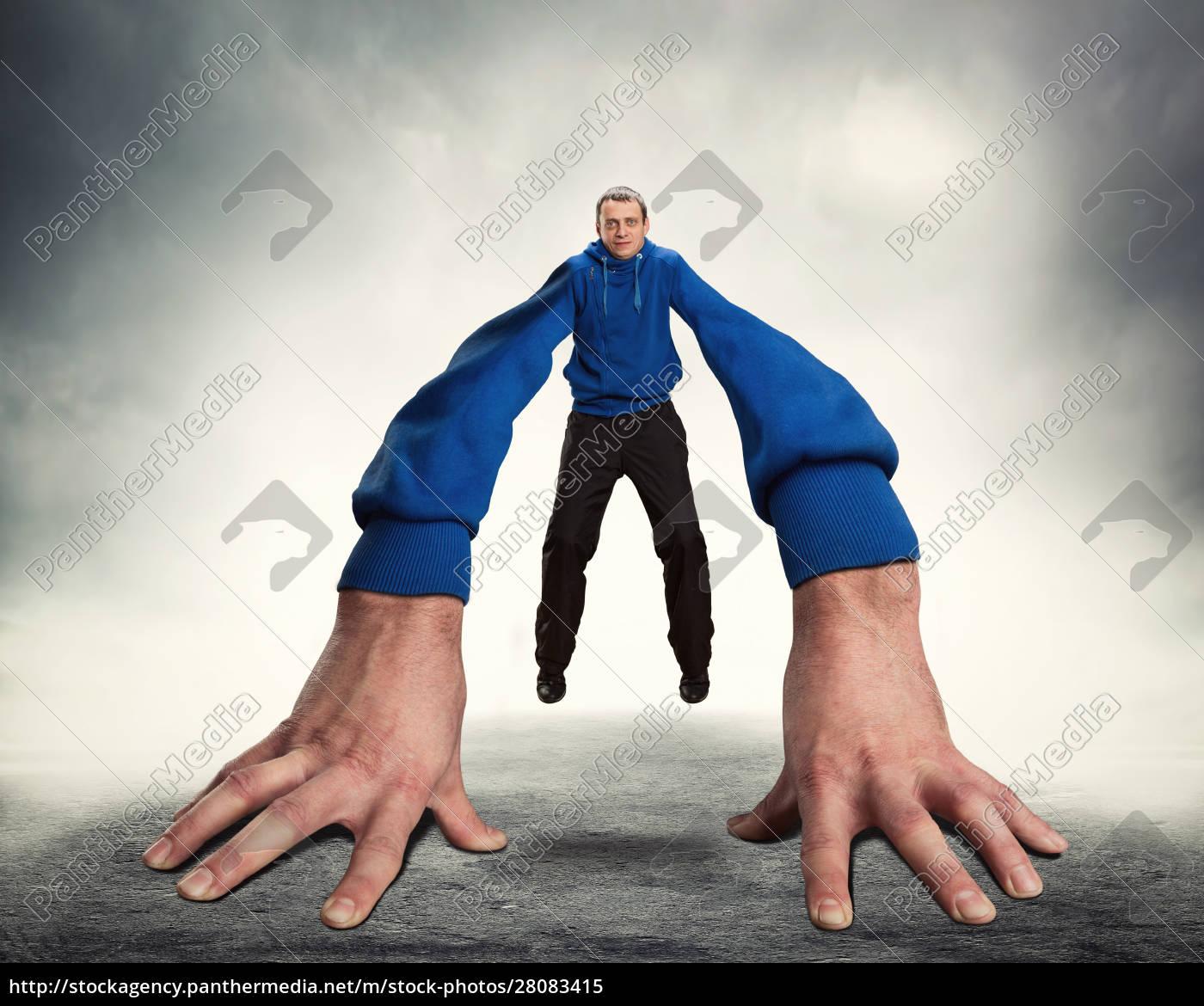 strange, man, with, big, hands - 28083415