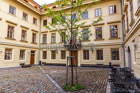 building, facade, and, yard, , old, european - 28084241