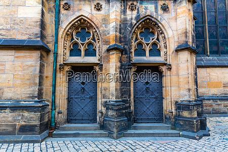 castle, facade, with, doors, , ancient, european - 28084007