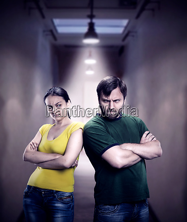 man, and, woman, frowned - 28084058