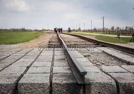 railway german concentration camp auschwitz ii
