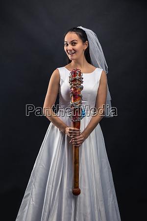 serial murederer in wedding dress