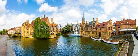 belgium brugge west flanders panorama