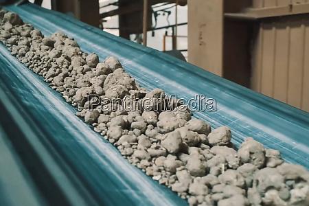clay conveyor line for brick production