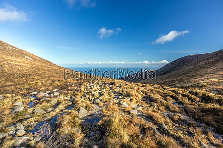 mourne mountains are the highest mountain