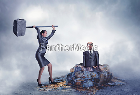 business violence