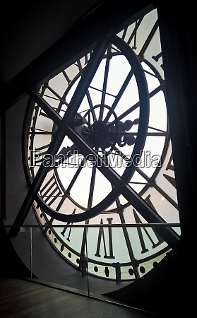large clock in the musee dorsay