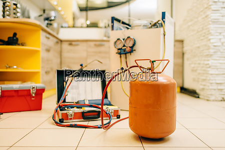 tools for repairing of refrigerator cooling
