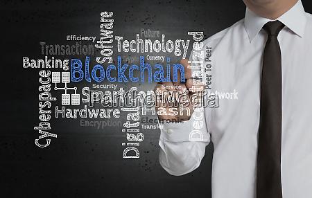 blockchain cloud is written by businessman