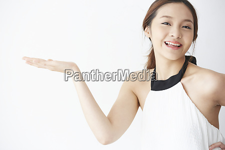 female model pose
