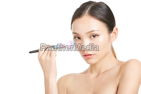 female beauty series makeup