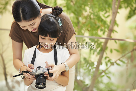 parent and child lifestyle creative