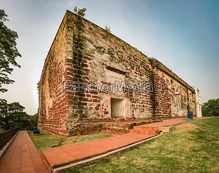 saint pauls church in malacca city