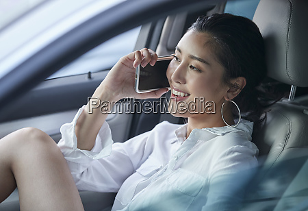 female lifestyle driving