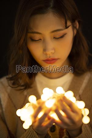 womens beauty illumination