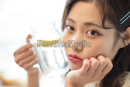 female lifestyle water