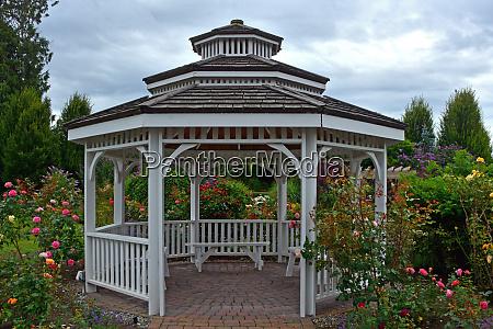 summer garden gazebo