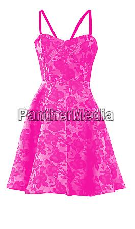 dress pink night cloth glamour fashion