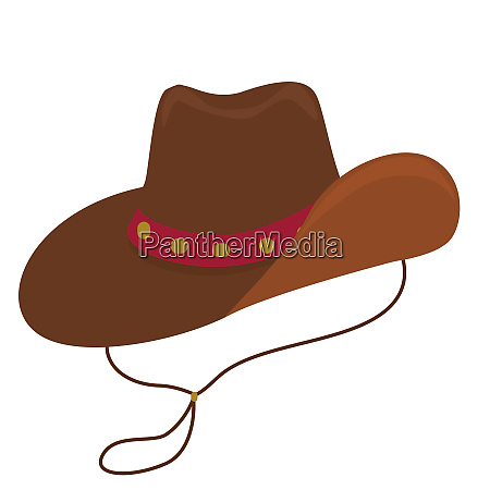 cowboy hat brown rancher costume rodeo