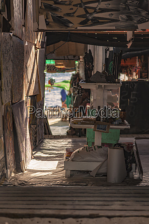 souvenir shop on the dominicus beach