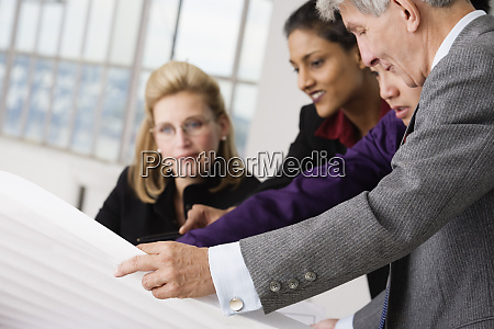 business executives in a discussion