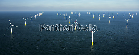 offshore windfarm north of island of