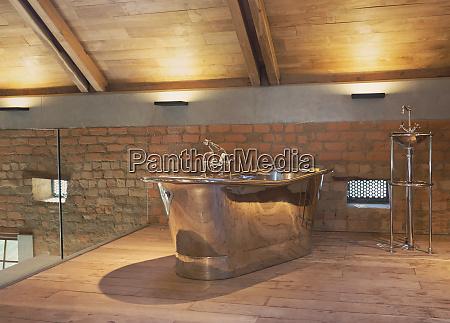 home showcase interior stainless steel bathtub
