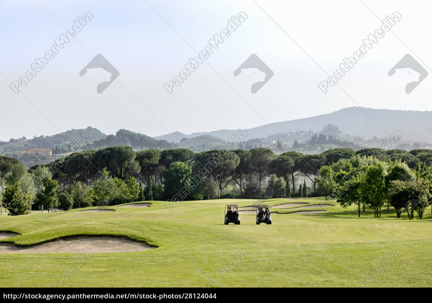 buggies, on, golf, course - 28124044