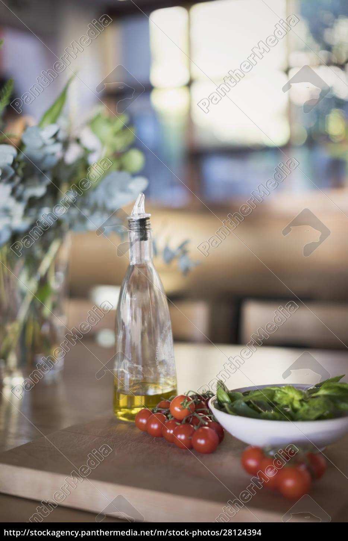 still, life, fresh, , ripe, cherry, tomatoes, - 28124394