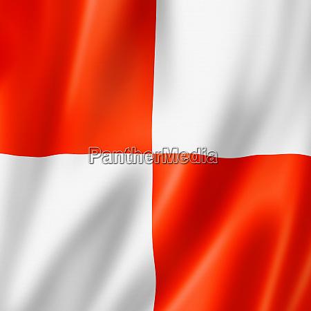 uniform international maritime signal flag