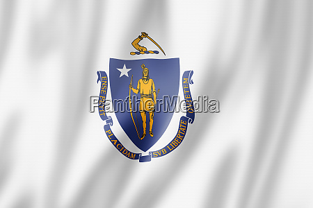 massachusetts flag usa