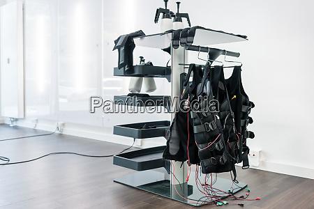 still life of equipment needed in