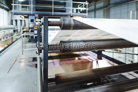 print line with newspaper