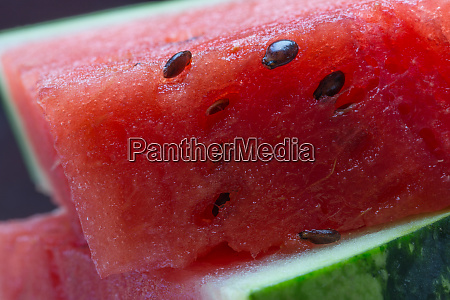 watermelon detail macro shot
