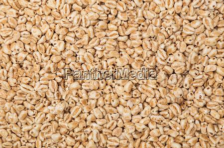 wheat flakes macro detail background