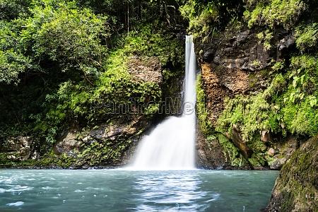 chamouze waterfall in chamarel mauritius