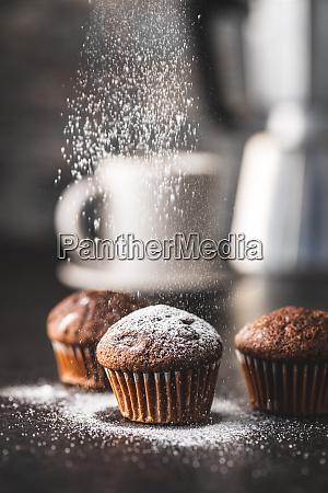 tasty, chocolate, muffins., sweet, cupcakes. - 28135255