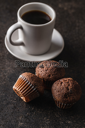 tasty, chocolate, muffins., sweet, cupcakes. - 28135283