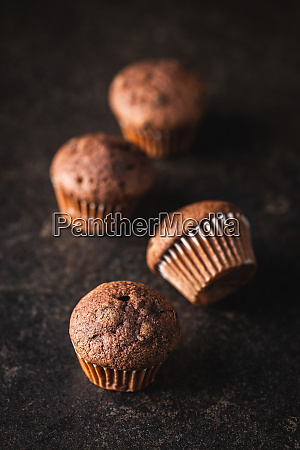 tasty, chocolate, muffins., sweet, cupcakes. - 28135290