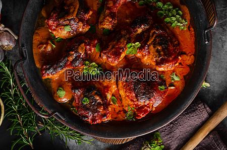 hot and spicy tikka chicken