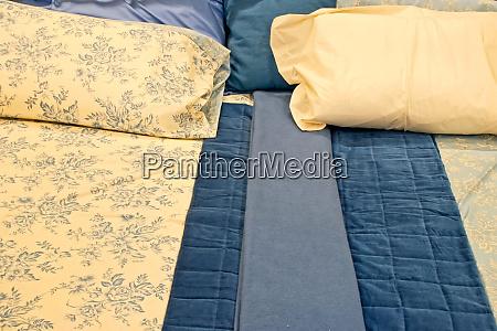blue bedding