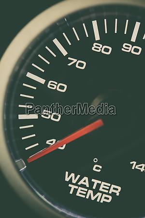 car water temperature gauge