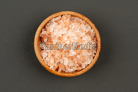 a, small, wooden, bowl, filled, with - 28140602
