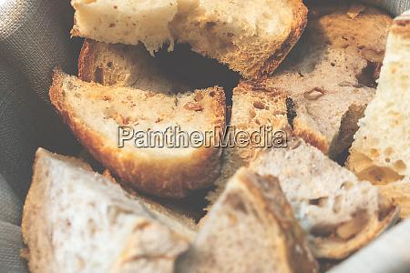 vintage photo of a bread basket