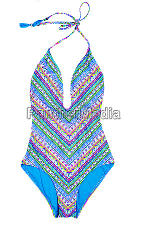 swimsuits isolated close up of a