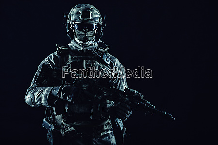 special operations forces soldier low key